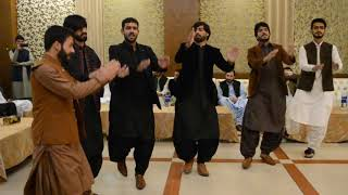 Balochi dance performed by Baloch students of Faisalabad