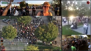 St. Louis - Stockley Verdict Protests outside Galleria Mall 09/20/17
