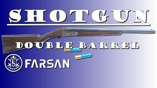 SHOTGUN Double Barrel Farsan - REVIEW AIRSOFT
