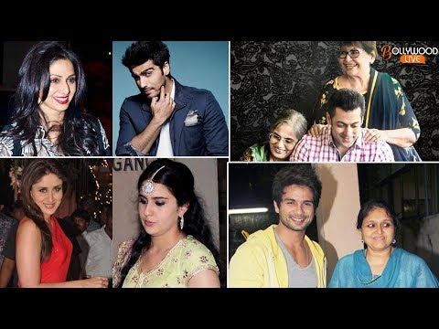 Top 10 Bollywood Celebrities & Their Stepmoms | Bollywood Live