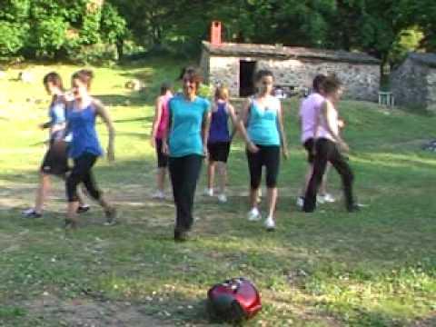 Coreografías de aerobic 4º A