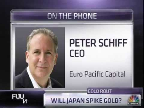 Peter Schiff: Coming Japanese Crisis Will Spike Gold - CNBC 5/16/2013