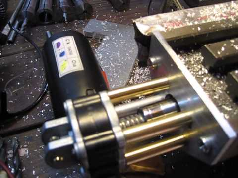 Milling Machine Power Feed Mill Homemade Power Feed