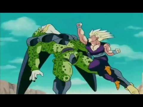 Gohan SSJ2 vs. Cell - Lost In The Echo By Linkin Park