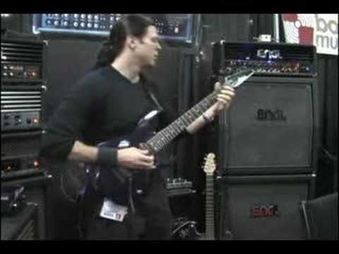 Chris Broderick ENGL booth NAMM 2007 Mr Sandman
