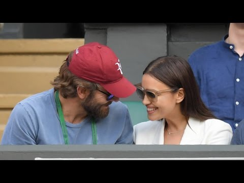 Bradley Cooper and Irina Shayk Pack on the PDA at Wimbledon - See The Pics!