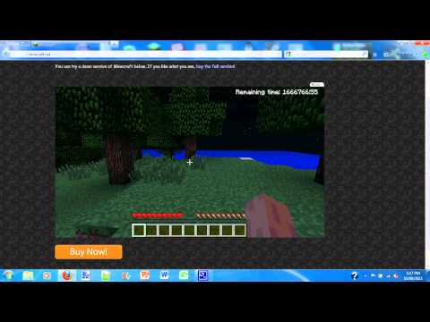 minecraft demo how to get unlimited time