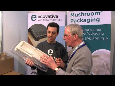 Ecovative grow packaging