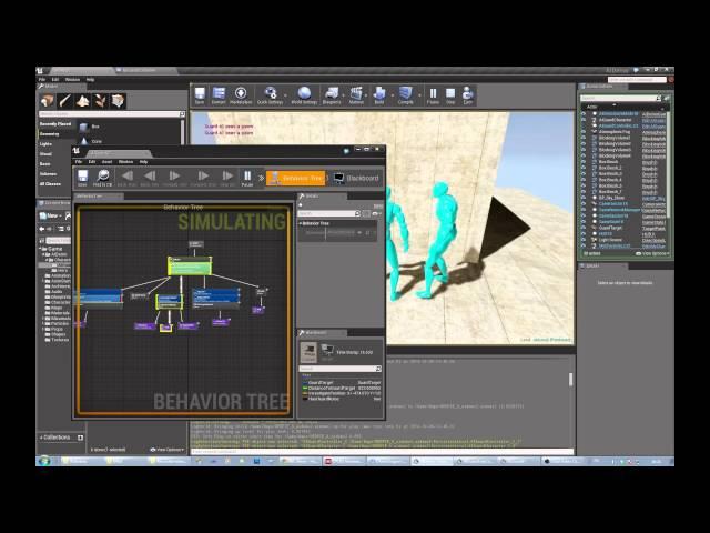 Unreal Engine AI Tutorial #1 - AI Guard Part Three