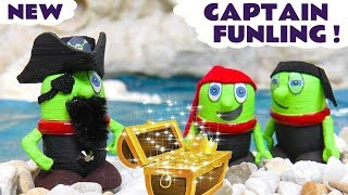 Funny Funlings New Pirate Funling Treasure Story for kids with Thomas and Friends
