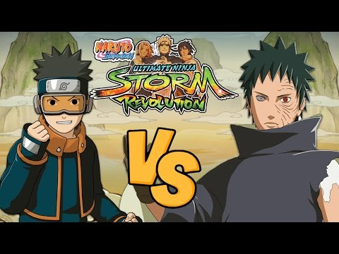 Naruto Shippuden Ultimate Ninja Storm Revolution: Young Obito Vs Obito (Rinnegan)