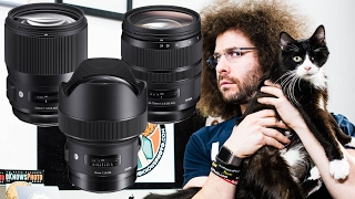 SIGMA Unleashes 3 New Art Lenses: 14mm F1.8 HSM / 135mm F1.8 HSM / 24-70mm 2.8 OS HSM and 100-400