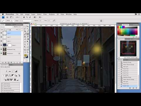 Photoshop - Realistic Lantern Glow That Beginners Can Create