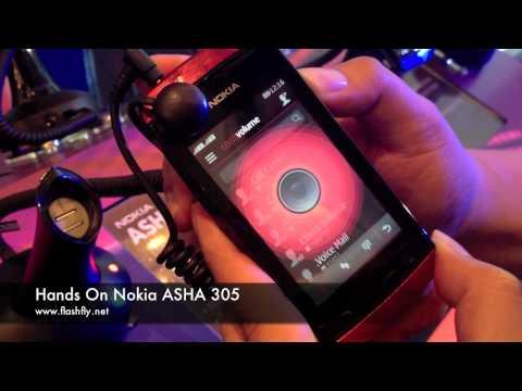 Hands on Nokia ASHA 311 , ASHA 305 and ASHA 306 in Thailand