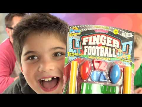 Finger Football Game! Half Time Show w/HobbyPig + HobbyFrog by HobbyKidsTV