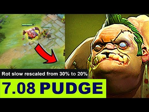 NEW PUDGE DOTA 2 PATCH 7.08 NEW META GAMEPLAY #9 (SPRING CLEANING PATCH 7.08 UPDATE)