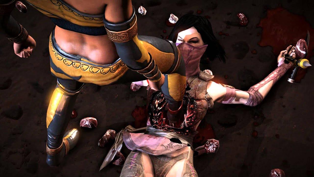 Mortal kombat sex toon xnxxvdieos hentai video