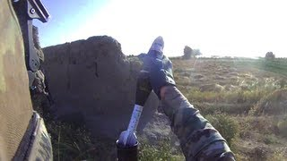 Army Mortar Team Drops Bombs On Taliban Ambush During Firefight