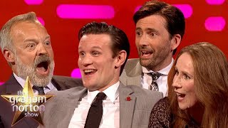 The BEST Of Doctor Who On The Graham Norton Show Part One
