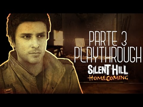 Silent Hill: Homecoming Playthrough - Pyramid Head arrancou meu braço!? - 03