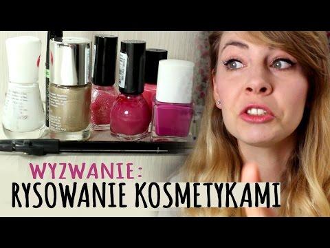 WYZWANIE: Rysowanie Kosmetykami