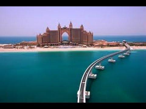 Дубайский Монорельс Палм Джумейра Атлантис / Dubai Monorail in Palm Jumeirah Atlantis hotel