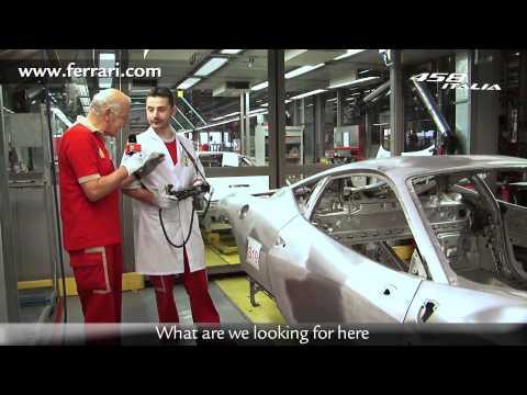 Ferrari 458 Italia — Производство