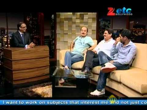 Komal Nahta with Team of 'Mr. Bhatti On Chutti'