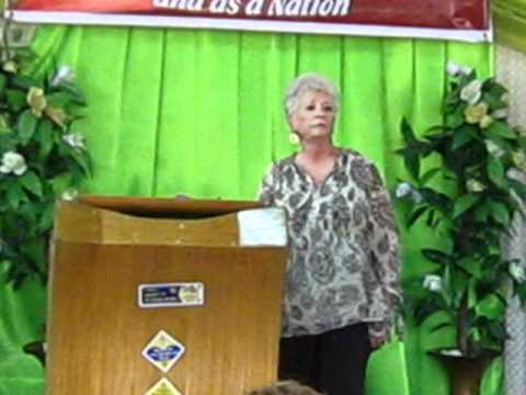 Rev Mary Cutler on God Given Vision 2