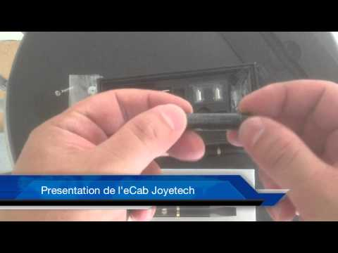 Prsentation eCab Joyetech video cigarette lectronique
