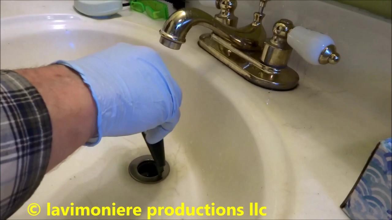 Bathroom drain stopper