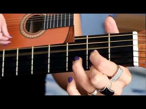 NAUKA GRY NA GITARZE -- Jak Zagrać KONIEC - Elektryczne Gitary CHWYTY
