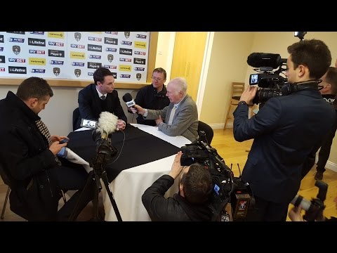 Jamie Fullarton speaks with BBC Radio Nottingham's Colin Slater and the Nottingham Post's Leigh Curtis about his appointment as the new Notts County First Team Manager.