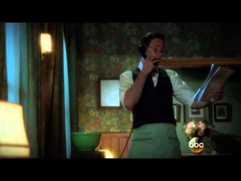 James D'Arcy shields Carter's secrets .