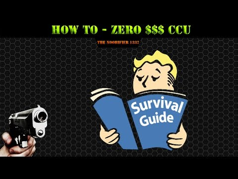 Star Citizen - HOW TO USE A ZERO DOLLAR CCU