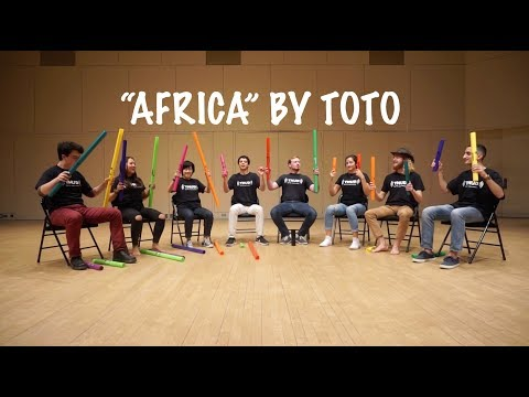 Download Lagu  Africa by Toto on Boomwhackers! Mp3 Free