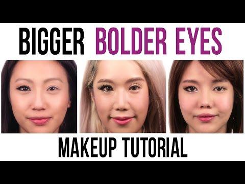 Bigger Bolder Eyes Tutorial By The clicknetwork Stars