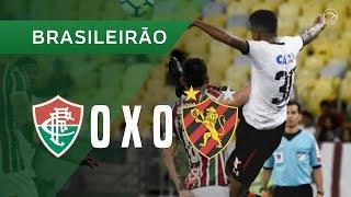 FLUMINENSE 0 X 0 SPORT - MELHORES MOMENTOS - 11/11 - BRASILEIRÃO 2018