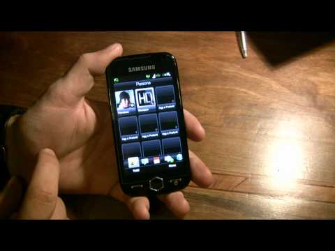 Samsung Omnia 2 con htc SENSE ITA