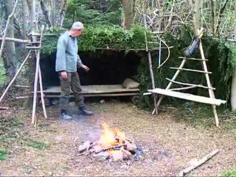 build a wilderness shelter, survival skills 7 of 7