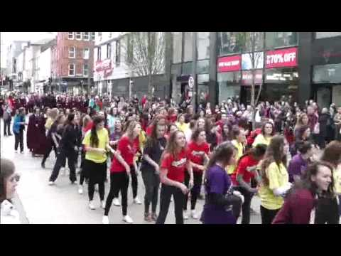 FLASH MOB ON BEDFORD ROW