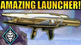 Destiny 2: AMAZING! Sins of the Past Leviathan Raid Rocket Launcher
