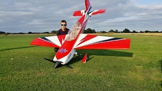 "DEANO FLYING HIS EXTREME FLIGHT EXTRA 330 104"" - GP 123cc - RC 3D AEROBATICS - 2018"