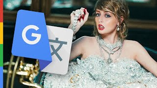 LOOK WHAT YOU MADE ME DO - Taylor Swift (Google Übersetzt) PARODIE