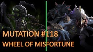 [Mutation #118] Wheel of Misfortune - Abathur + Dehaka (Brutal)