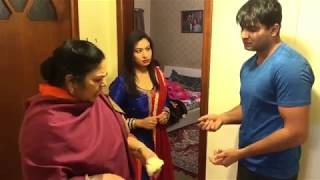 """BRUSH"" With Naz Gill TAYI Surinder Kaur   Punjabi Funny Video"