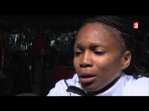 image vidéo L'émotion de Laura Flessel après sa Défaite aux JO 2012 de Londres