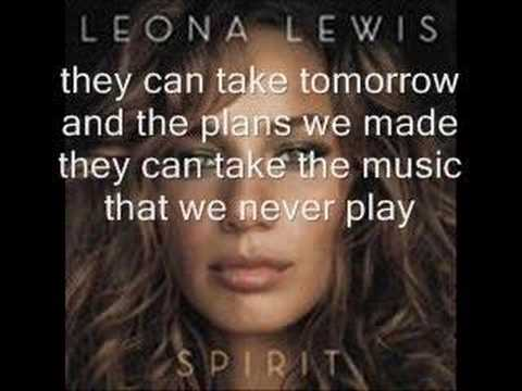 Leona Lewis-Yesterday w/lyrics