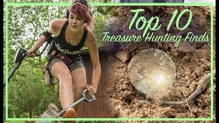 Top 10 Treasure Hunting Finds | Metal Detecting for Coins & Relics