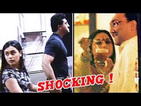 Rani Mukherjee & Aditya Chopra in a LIVE IN RELATIONSHIP